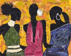 black women art friends